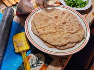 Tortilla fertig