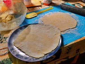 Tortilla roh